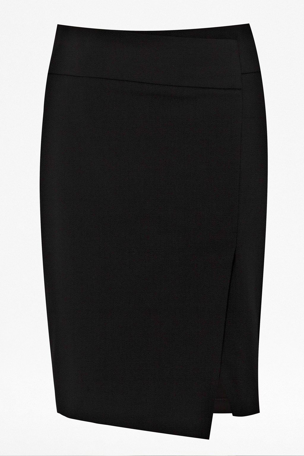 Estelle Stretch Split Skirt