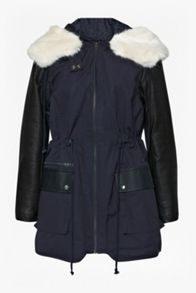 Rhumba escape faux fur parka