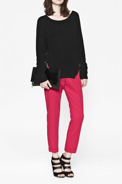 French Connection Mozart rocks zip detail jumper