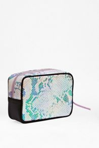 Iridescent make-up bag