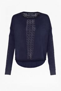 Ivy lace slouchy jumper