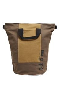French Connection Miles Canvas Rucksack