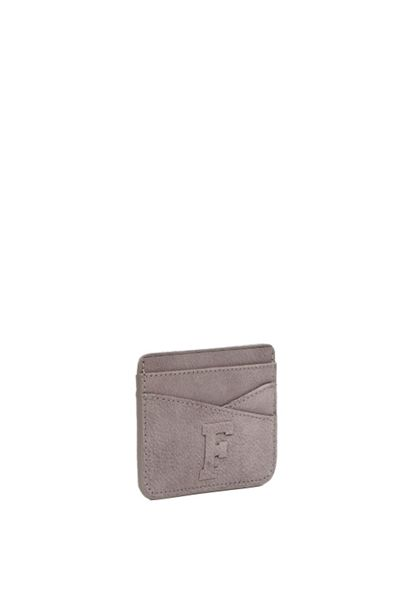 French Connection Quinn Leather Plain Card Holder