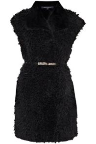 Fallon faux fur gilet