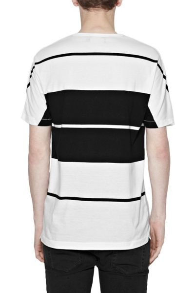 French Connection Aster Stripe Crew Neck Regular Fit T-Shirt