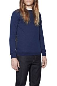French Connection Ansel Pattern Crew Neck Jumper