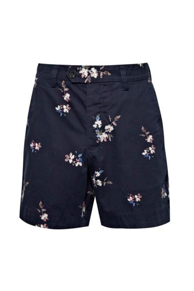 French Connection Blossom Cotton Shorts