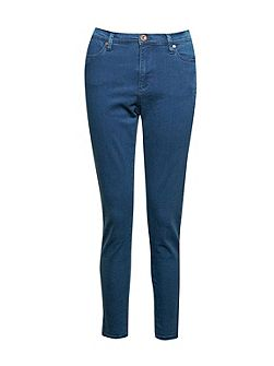 French Connection High Rise Slim Cropped Jeans