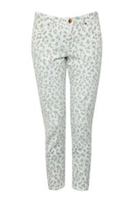 Leo Leopard Printed Jeans