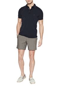 French Connection Prince Of Wales Cotton Shorts