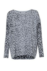Animal Instinct Slouchy Top