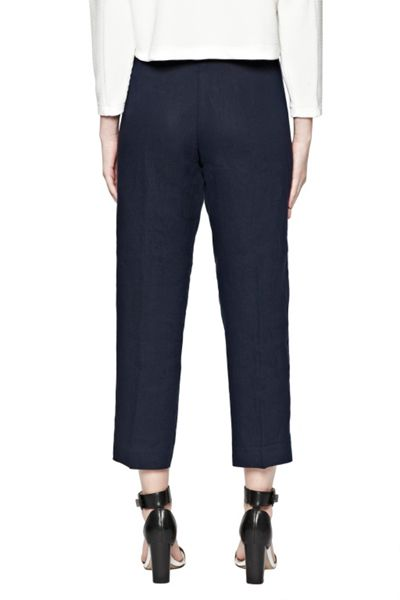 Great Plains Norfolk Linen Straight Leg Trousers