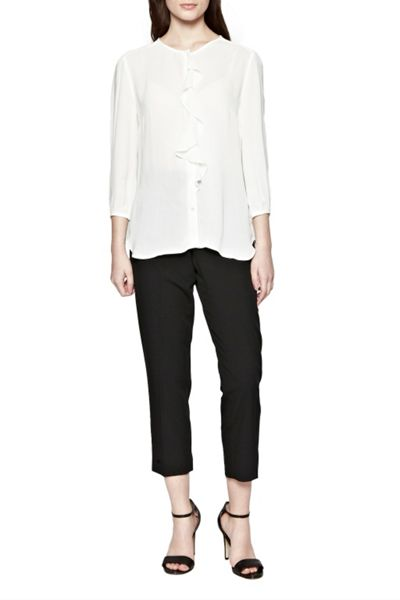 Great Plains Courtney Crepe Frill Shirt