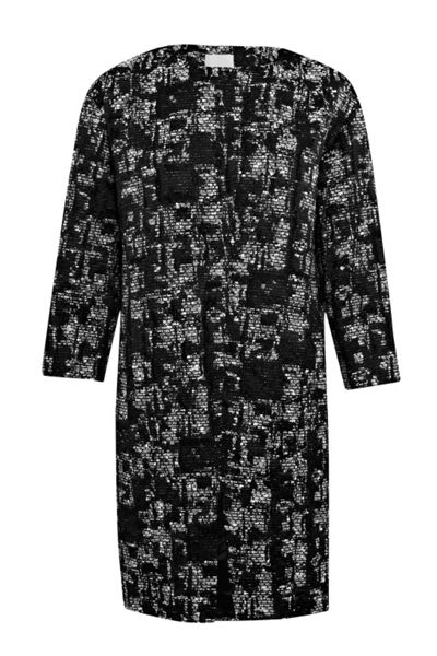 Great Plains Dizzy Mono Cocoon Coat