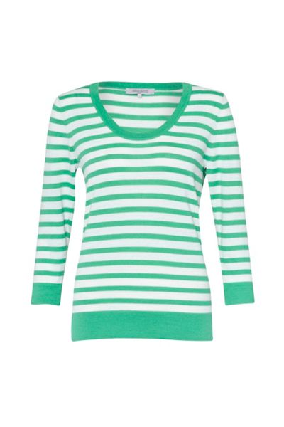 Great Plains Summer stripes scoop neck jumper