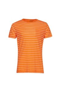 French Connection Stripe Crew Neck Regular Fit T-Shirt