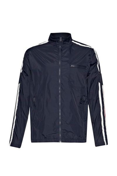 French Connection Casual Full Zip Bomber Jacket