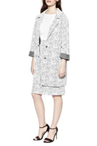 Great Plains Trellis Jacquard Coat