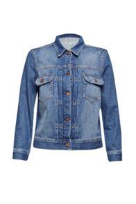 French Connection Shrunken Western Denim Jacket