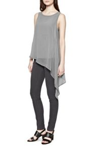 Featherweight Drape Tunic Top