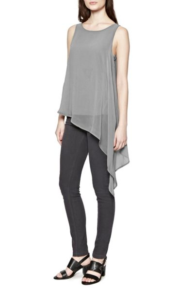 Great Plains Featherweight Drape Tunic Top