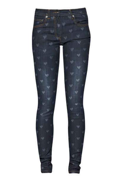 Great Plains Love Heart Skinny Jeans