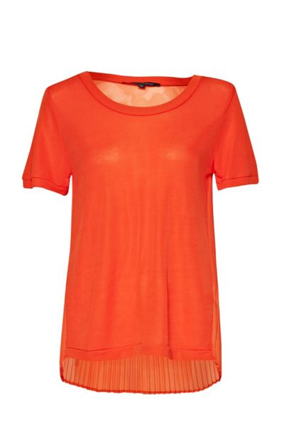 French Connection Karla pleat back top