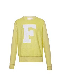 Jopadhola Cracked Graphic Crew Neck Jumper