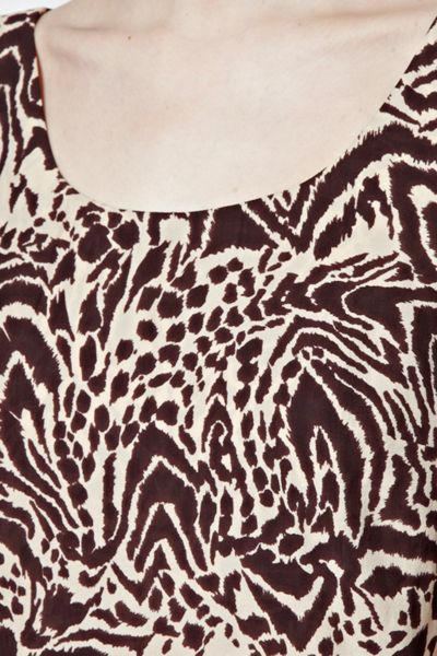 Great Plains Simba Print Layer Dress