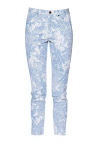 French Connection Flight of fancy printed jeans