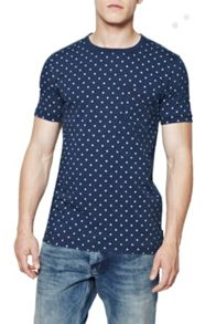 Indigo World Wide Dot T-shirt