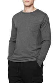 French Connection Plain Crew Neck Regular Fit T-Shirt