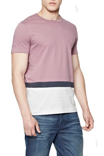 French Connection Stockwood Colour Block T-Shirt