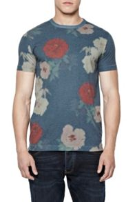 French Connection Pixel Peonie Print T-Shirt