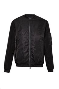 French Connection Stanford Nylon Bomber Jacket