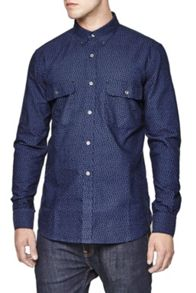 On The Road Floral Oxford Shirt