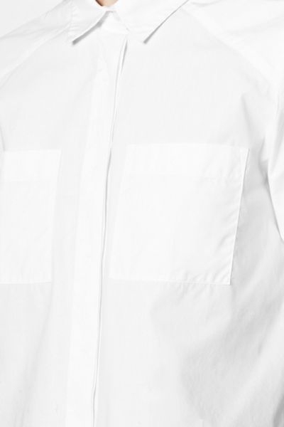 French Connection Penelope Poplin Cropped Shirt