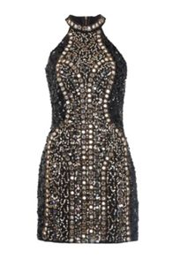French Connection Aspen Sequin Embellished Dress