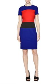 Lula Stretch Colour Block Dress