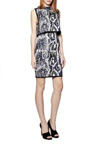 Spotlight Boa Layer Dress
