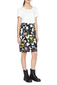 French Connection Botanical Trip Pencil Skirt