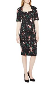 Great Plains Atomic Print Sculpting Dress