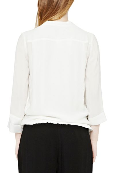 Great Plains Cara Crepe Wrap Top
