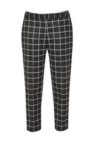 Great Plains Herringbone Check Trouser
