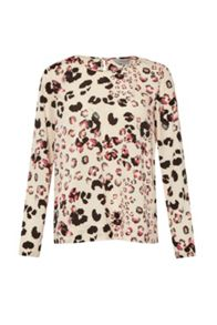 Leopard Kisses Long Sleeve Top
