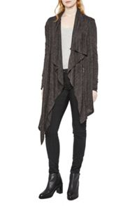 Sofia Softs Draping Zip Cardi