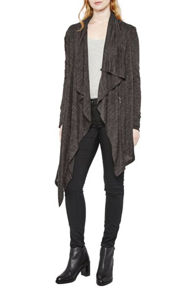 Great Plains Sofia Softs Draping Zip Cardi