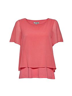 Featherweight Jersey Layer Tee