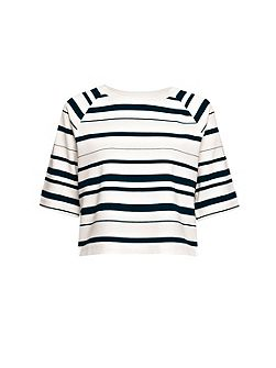 Joshua Striped Jersey Top