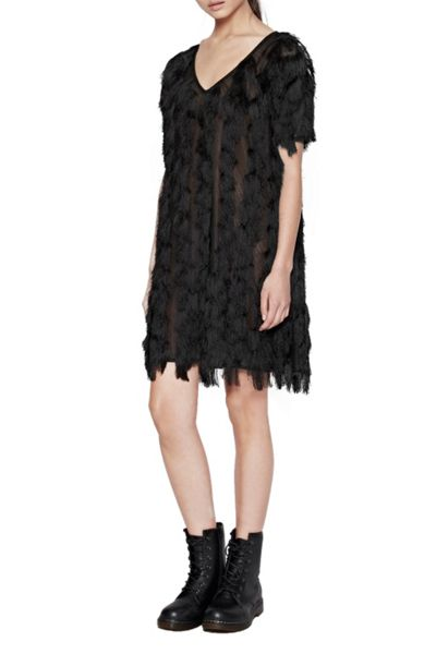 French Connection Tassel Valley Dress